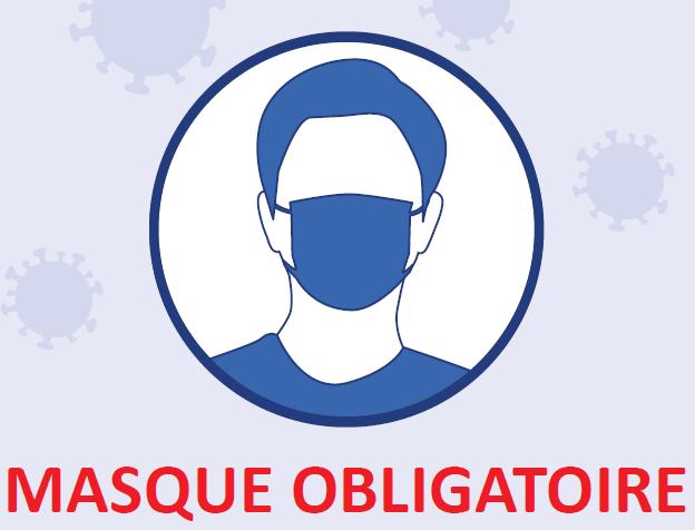 Masque obligatoire COVID-19